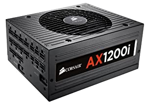 Corsair Professional Series  AX 1200 Watt Digital ATX/EPS Modular 80 PLUS Platinum (AX1200i)