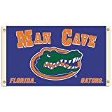 NCAA Florida Gators Man Cave Flag with 4 Grommets, 3 x 5-Feet at Amazon.com