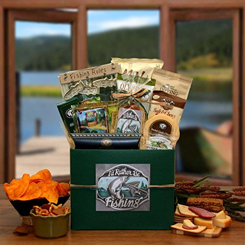 I'd Rather Be Fishing Gift Box Mens Gift