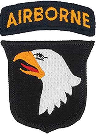 101st Airborne Dress Patch with Tab