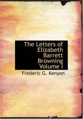Las Letras de Elizabeth Barrett Browning