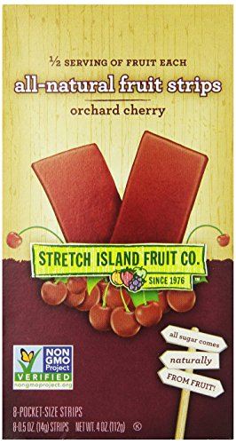 Stretch Island All Natural Fruit Strips, Cherry, 8-Count Strips (Pack of 6) (Fruit Strips Subscribe And Save compare prices)