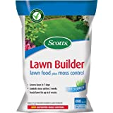 Scotts Lawn Builder 400 sq m Lawn Food plus Moss Control Bagby Scotts Miracle-Gro