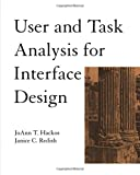 img - for User and Task Analysis for Interface Design book / textbook / text book