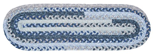 Print Party - Ovals Py59 Stair Tread, Denim Wash, 13-Pack