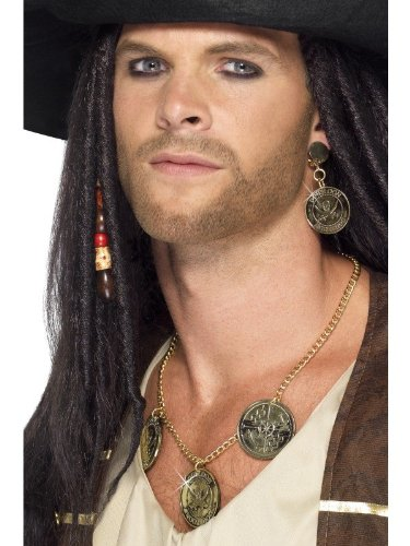 Adults Pirate Jewellery Set - 1