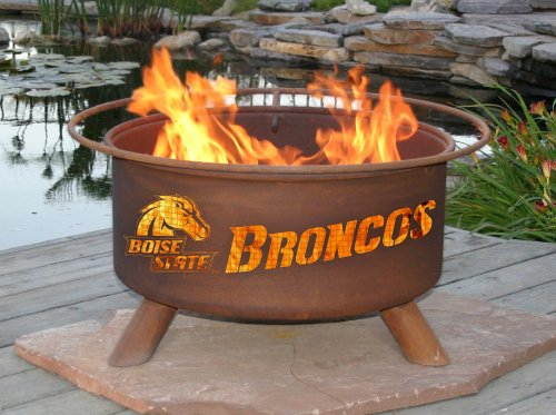 Boise State Broncos Patina Fire Pit