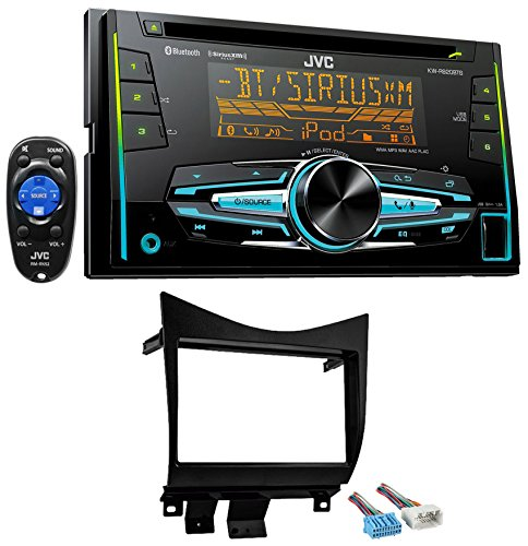 2003-2007 Honda Accord JVC In-Dash Stereo CD Player+Bluetooth/USB/iPhone/Sirius (Honda Accord Bluetooth Kit compare prices)
