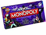 Monopoly Nightmare Before Christmas Board Game