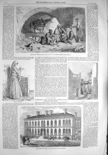 1857 STANGERS SI DIRIGONO LIMEHOUSE KHAN LYCUS BEYROUT LAODICEA