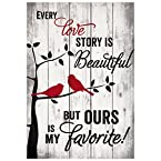 Every Love Story Pallet Wall Art