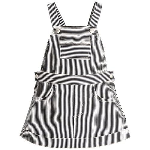 (コムサイズム)comme ca ism(コムサイズム) ヒッコリージャンパースカート 23-56OM05 09 ネイビー 80cm