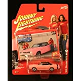 1969 Dodge Super Bee #7 * American Beauties * 2006 Johnny Lightning 1:64 Scale Die Cast Vehicle & Bonus Lightning...