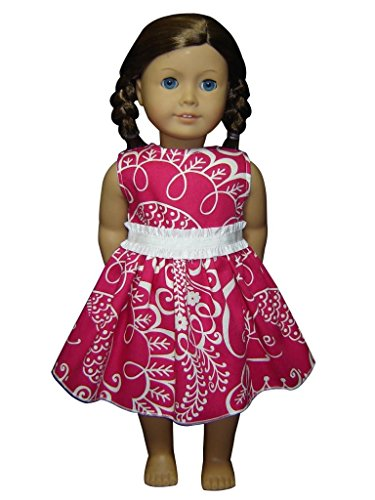 "Glamerup Collection: Lyvie - 18"" Doll Dress, With White Band"