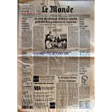 MONDE (LE) [No 16027] du 07/08/1996 - L'EUROPE MENACE WASHINGTON DE REPRESAILLES COMMERCIALES LES AVEUX DES SKINHEADS...