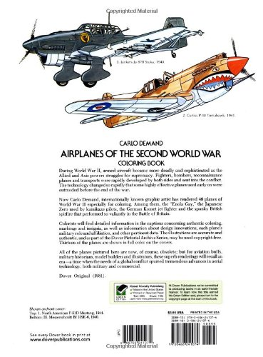 a paper on changes of the usage of airplanes during wwii