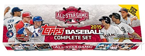 2015 Topps MLB Baseball HUGE 705 Card Special ALL-STAR GAME Factory Set with 5 EXCLUSIVE ALL STAR Bonus Cards including Mike Trout, Buster Posey & More! Loaded with Rookie Cards including KRIS BRYANT (2015 All Star Game compare prices)