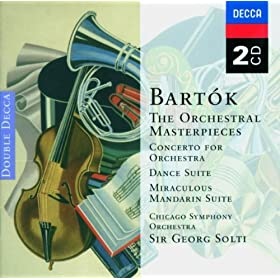 Bart�k: The Miraculous Mandarin Suite, BB 82, (Sz. 73) Op.19