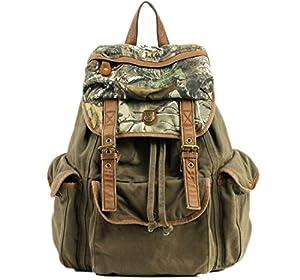 Cooler toile automne/sac à dos rétro-style couleur camouflage unisexe