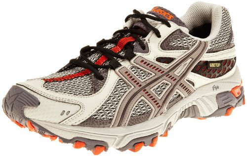 Asics Women's Gel Trabuco 13 G-Tx W Sand/Stone/Russet Orange Trainer T0B7N0817 9 UK