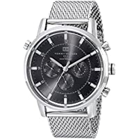 Tommy Hilfiger Men's Silver-Tone Stainless Steel Watch (1790877)