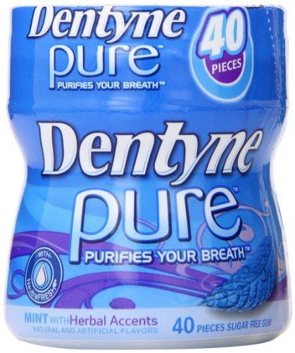 dentyne-pure-sugar-free-gum-mint-with-herbal-accents-40-piece-bottle-pack-of-4