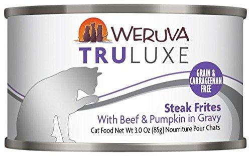 Weruva TRULUXE Steak Frites - With Beef & Pumpkin In Gravy