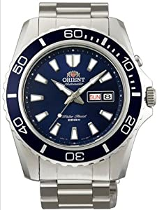 Orient Blue Mako XL Automatic Dive Watch CEM75002D