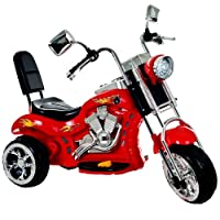 Lil' Rider Red Rocking 3 Wheel Chopper Motorcycle