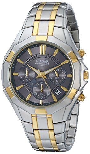 Pulsar - PT3200 reloj cronógrafo para hombre, colour: