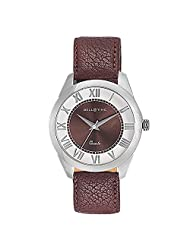 Bella Time Casual Series Exclusively Designed Dial Roman View Analog Brown Dial Mens Watch-BT0005A
