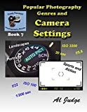 img - for Popular Photography Genres and Camera Settings (Finely Focused Photography Books Book 7) book / textbook / text book