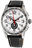 Swiss Watches:Victorinox Swiss Army Men's 241281 Classic XLS Alarm Chronograph Silver Dial Watch