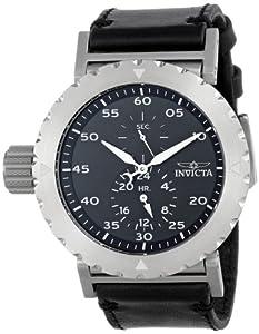 Invicta 14638 - Reloj de pulsera hombre, piel, color negro