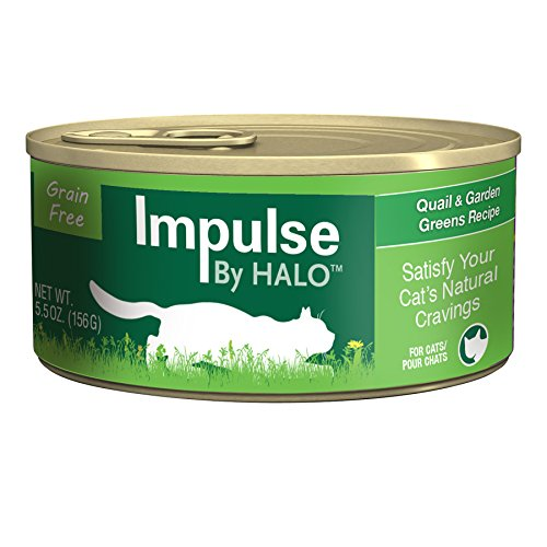 Halo Impulse Cat Quail & Garden Greens
