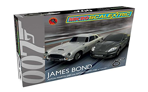 Scalextric Micro James Bond Set