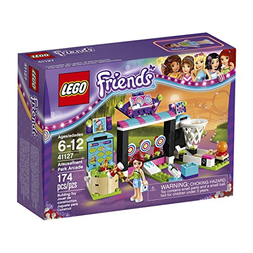 LEGO 6136480 Friends Amusement Park Arcade Building Kit (174 Piece) (Amusement Tickets compare prices)