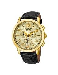 Stuhrling Original Men's 132XL.333531 Navigator De Leon Swiss Quartz Goldtone Watch