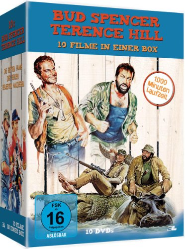 Bud Spencer & Terence Hill [10 DVDs]