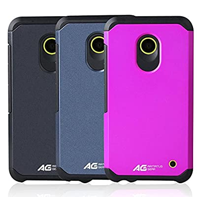 Nokia Lumia 630/635 Case - Armatus Gear (TM) Slim Hybrid Armor Case Dual Layer Shockproof Phone Cover For Nokia Lumia 630 / Nokia Lumia 635 by Armatus Gear