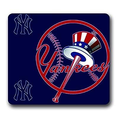 New York Yankees Non-Slip Mouse Pad,(10*9inch) Baseball Team Logo
