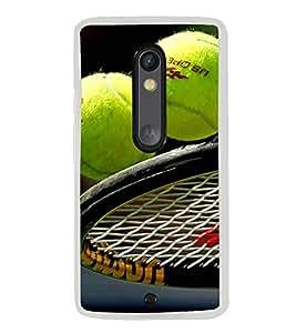 Tennis 2D Hard Polycarbonate Designer Back Case Cover for Motorola Moto X Play