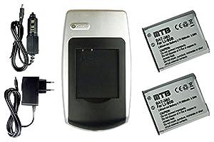 2x Baterías + Cargador para Olympus LI-90B - Consulte la lista de compatibilidad - Electrónica - Comentarios de clientes y más información