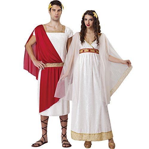 Totally Ghoul Greek Goddess Costume, One Size Fits Most