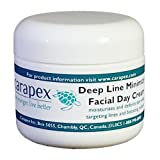 Carapex Facial Day Cream with Deep Line Minimizer Anti-aging Daily Moisturizer Gentle Natural Face Cream for Sensitive...
