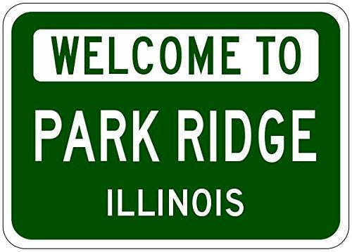 Park Ridge, Illinois City Sign