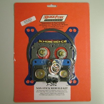 Quick Fuel 3-202 Holley Double Pumper 4150 Rebuild Kit (Quick Fuel Double Pumper compare prices)