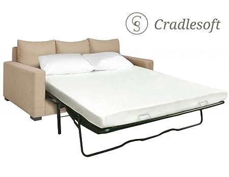 Cradlesoft¨, 4.5-Inch Memory Foam Sleep Sofa Mattress, Queen