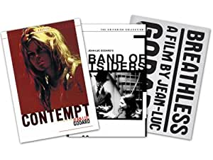 Criterion Collection Director Series - Jean-Luc Godard (Band Of Outsiders / Contempt / Breathless) - Amazon.com Exclusive