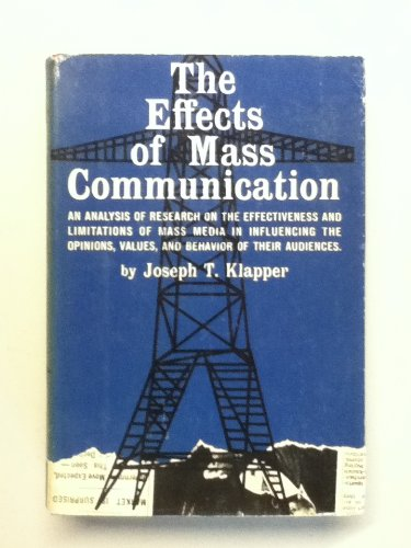 Effects of Mass Communication PDF